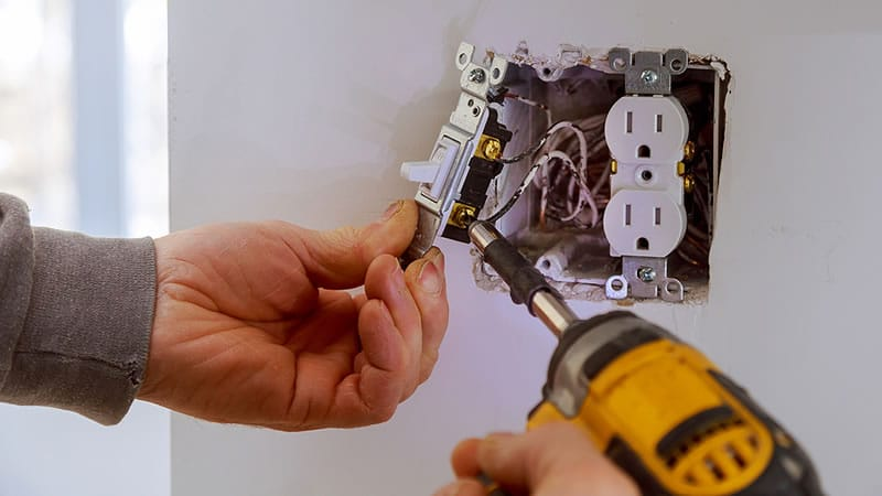 Electrical Repairs Greater Victoria BC and The Saanich Peninsula.